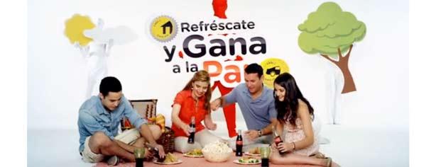 Promoción Coca-Cola Refréscate y Gana a la Par: junta las tapas amarillas y gana