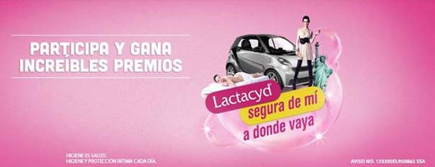 Promoción Lactacyd Segura de mí a donde vaya: gana bicicletas, auto 2013 o viajes