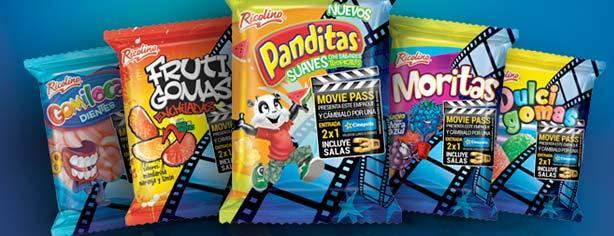 Promoción Ricolino Movie Pass: 2×1 en entradas a Cinépolis tradicional y salas 3D