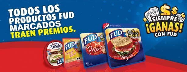 Promoción Siempre ganas con FUD 2013, canjea tu cupón y gana