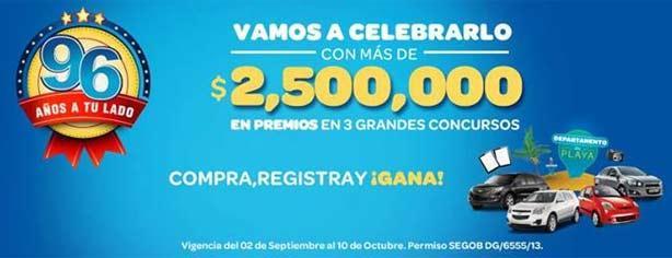 Promoción 96 Aniversario Benavides: registra tu ticket y gana casa, autos, tablets y más