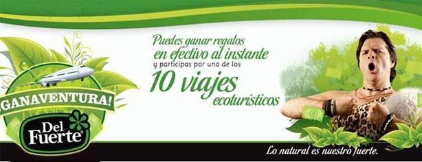 Promoción Ganaventura Del Fuerte: compra, registra y gana en www.ganaventura.mx