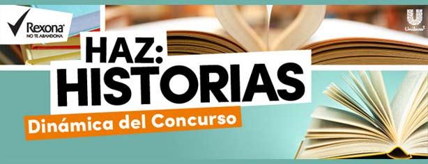 Promoción Rexona Haz Historias: escribe una historia con el escritor Alberto Chimal