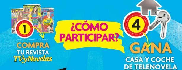 Promoción TVyNovelas te regala casa en Acapulco y coche de telenovela