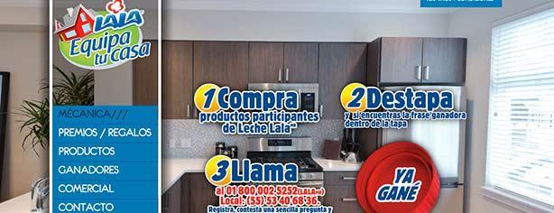 Promoci n lala equipa tu casa 2013 encuentra la frase ya - Encuentra tu casa ...