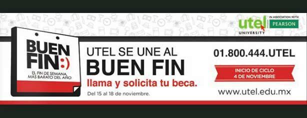 Universidad UTEL – Ofertas y promociones El Buen Fin 2013
