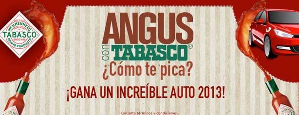 Concurso Tabasco y Angus McDonalds ¿Cómo te Pica? Gana pantallas y un auto Mazda3 2013