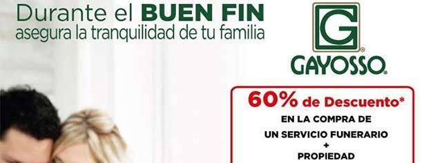 Gayosso – Ofertas y Promociones El Buen Fin 2013