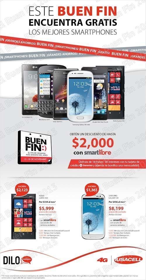 Iusacell ofertas y promociones el buen fin 2013 for Ofertas recamaras buen fin