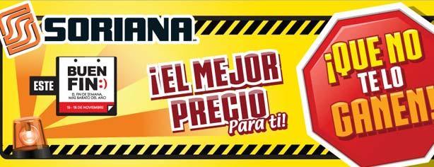 Soriana Híper – Ofertas y Promociones El Buen Fin 2013