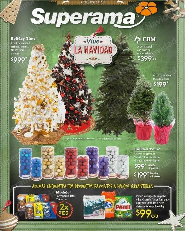 Folleto de ofertas Superama Navidad del 19 de noviembre al