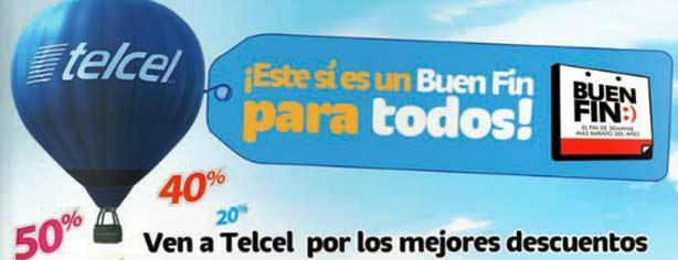 Telcel – Ofertas y Promociones El Buen Fin 2013