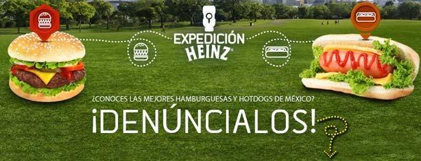 Concurso Expedición Heinz: gana fiesta para ti y 10 amigos y premios al instante
