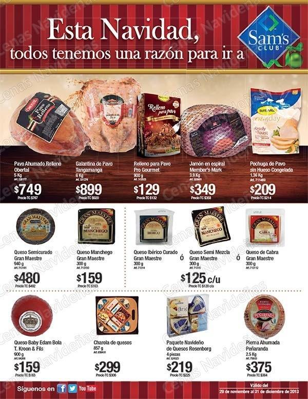 Sam S Club >> Catálogo de ofertas Sam's Club Cenas Navideñas ...