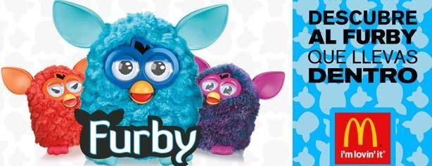 Concurso McDonalds, gana uno de los 5 Furby