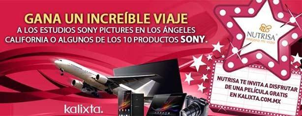 Promoción Helados Nutrisa y Kalixta: gana viaje a California, pantallas LED y más