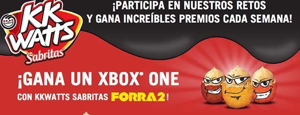 Promoción Kkwates Sabritas Forra2 Gana Xbox One Cada Semana