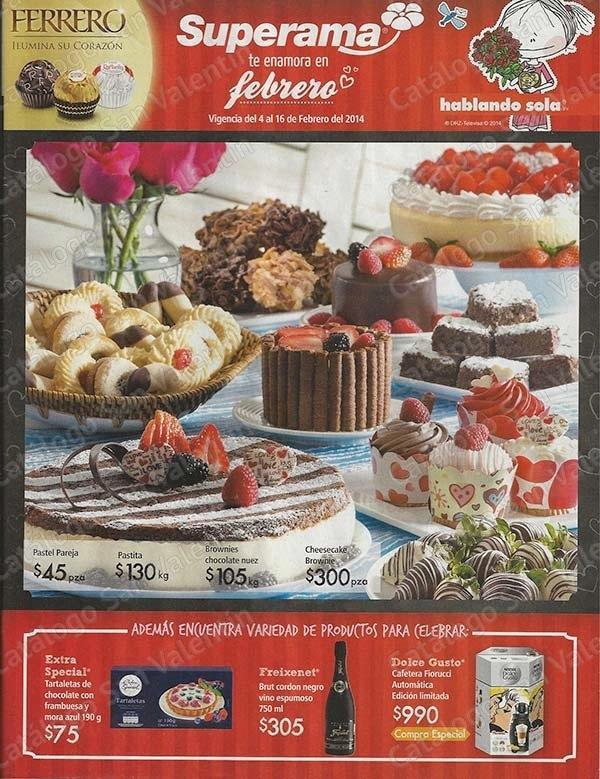 Catálogo de ofertas Superama San Valentín 2014