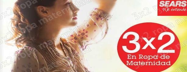 955a4fa61 Promoción Sears 3×2  en ropa de Maternidad