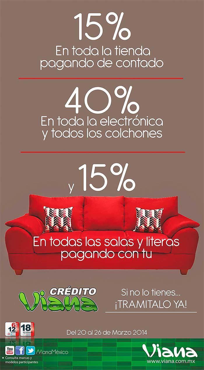 Promoci N Aprovecha Las Incre Bles Ofertas Que Tiendas Viana  # Muebles Viana Salas