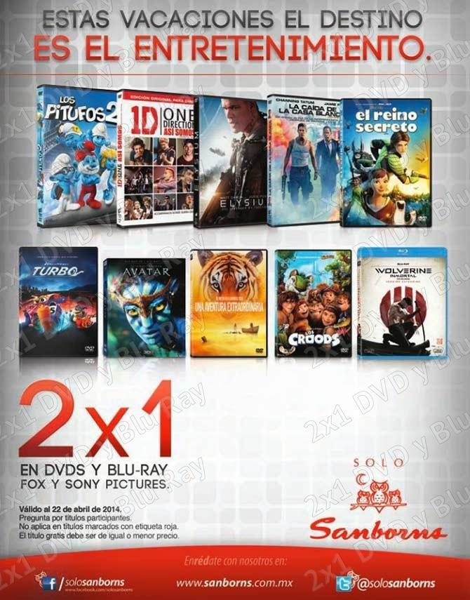 Sanborns 2 1 en dvd y blu rays disfruta estas vacaciones for Sanborns de los azulejos tiene estacionamiento