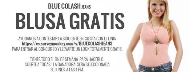 Concurso Blue Colash Gana Una Blusa Unos Jeans O Un Vestido