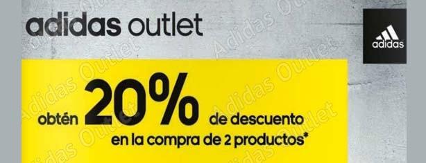 332530048 Promoción adidas Outlet  obtén hasta el 40% de descuento en la compra de 4  productos