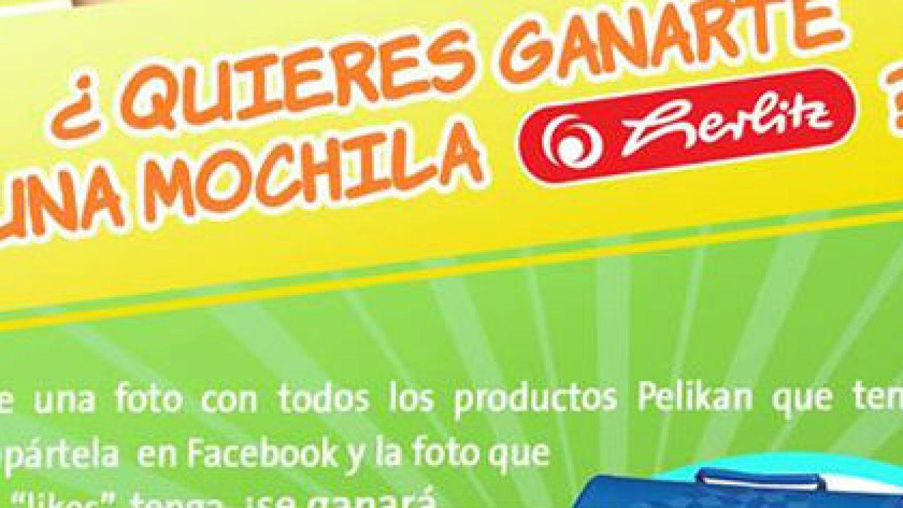 Mochila Una Herlitz Concurso Concurso PelikanGana PelikanGana Una kPOXZuwiT