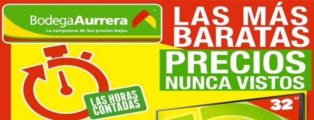 Promoción Bodega Aurrera Las Horas Contadas: selección de productos con precio rebajado