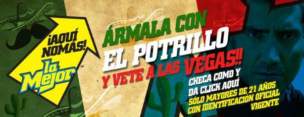 Concurso Ármala con El Potrillo: gánate un viaje a Las Vegas