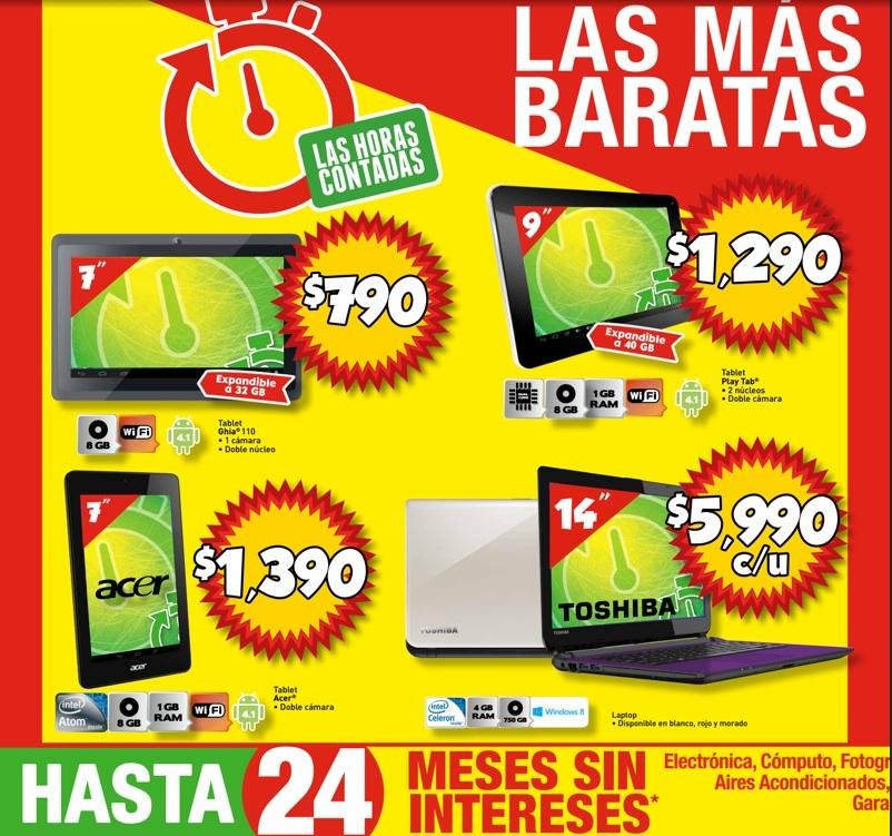 Promoción Bodega Aurrera Las Horas Contadas: selección de productos ...