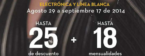 Technoshow Palacio de Hierro: hasta 25% de descuento en electrónica y línea blanca