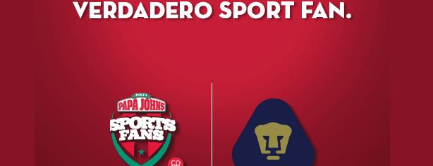 Concurso Papa John's: gánate un jersey autografiado por los Pumas de la UNAM