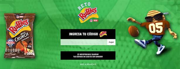 Promoción Reto Ruffles NFL 2016: registra tu código en ruffles.com.mx y gana viaje al Super Bowl LI