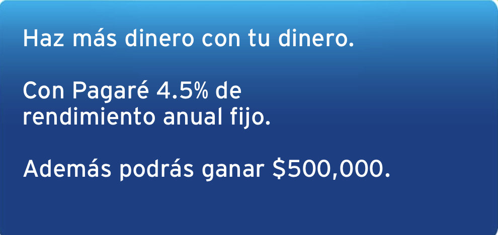 Participa con Citibanamex y gana $500,000
