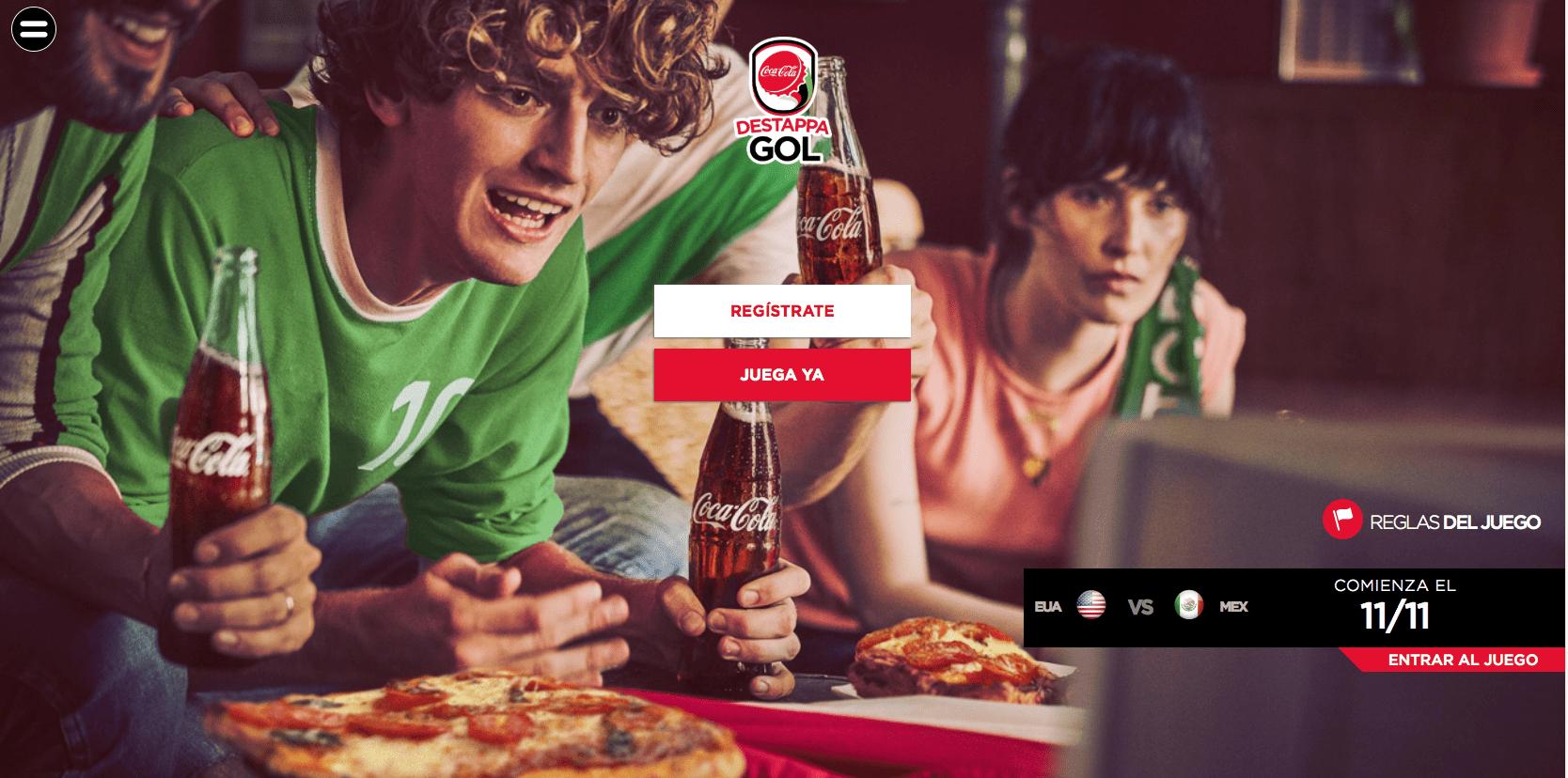 Promoción Coca-Cola Destappa Gol 2016: Gana viaje a la Copa Confederaciones Rusia 2017 en destappagol.coca-cola.com.mx