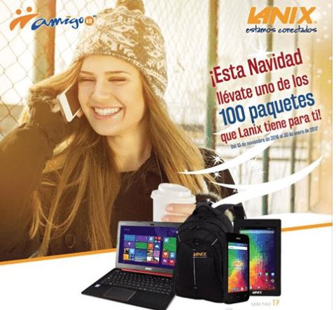 Lanix, Telcel y Coppel te regalan uno de los 100 increíbles paquetes Lanix