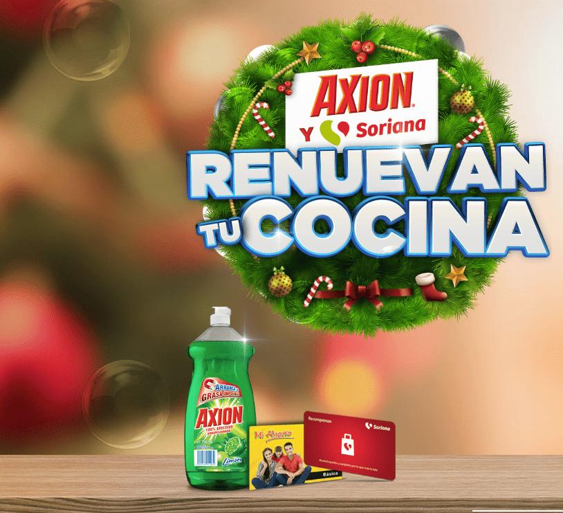 Participa con Axion y Soriana y gana la oportunidad de renovar tu cocina
