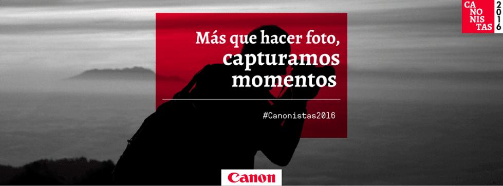 Participa con Canon en su concurso de fotografía y gana juego de lentes, cámaras y sesiones fotográficas