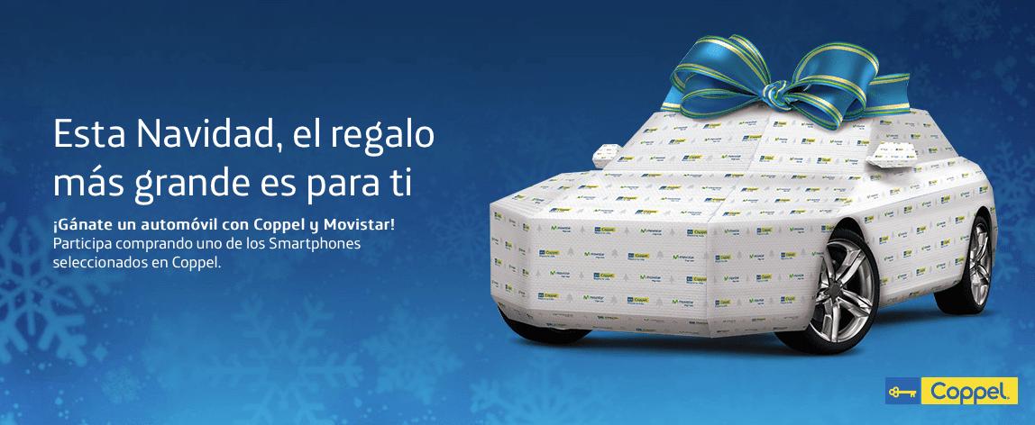 Promocion Movistar Navidad Coppel 2016 Gana Uno De Los 10 Autos Con