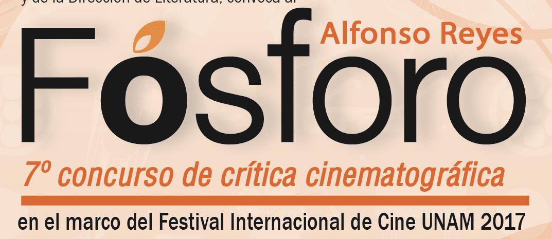 Fósforo Séptimo Concurso de Crítica Cinematográfica: Gana Kindle lector Amazon, paquetes de libros y películas y más