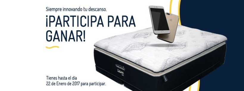 Therapedic te regala un colchón de lujo DOSS y un iPhone 7 de 32gb