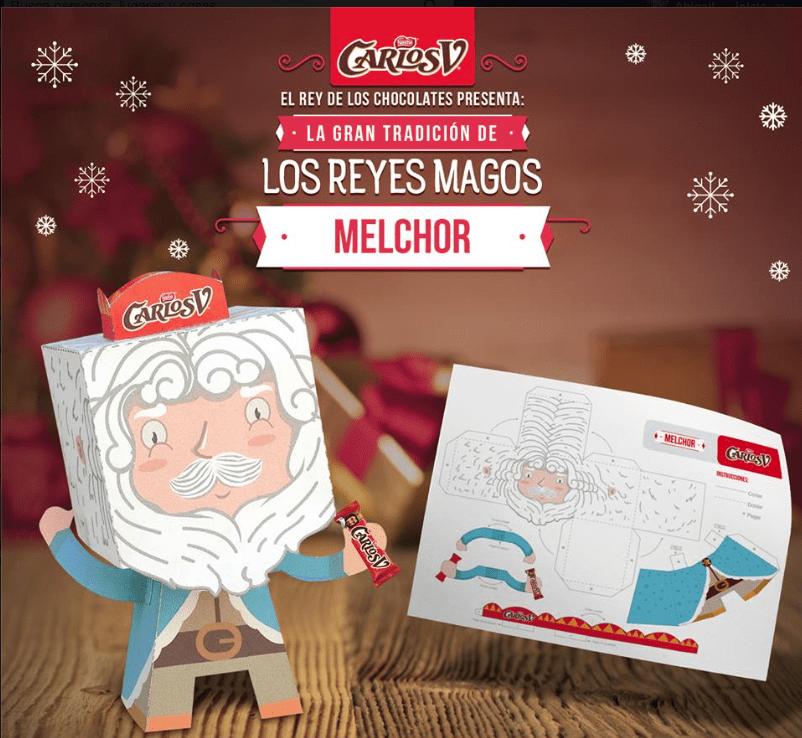 Promoción Reyes Magos Carlos V: Gana kit de productos Carlos V y funda para laptop