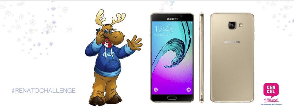Gana con Cencel y Telcel un Samsung Galaxy A700F A7