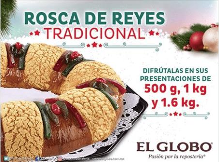 Promoción Rosca de Reyes El Globo Cabify: Gana uno de los 10 mil combos de Rosca de Reyes