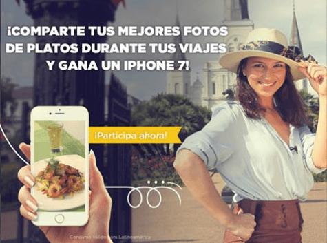Participa con el Gourmet y gana un iPhone 7