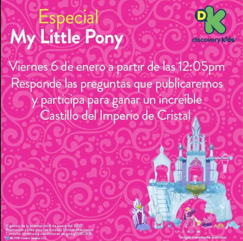 Promoción Discovery Kids Reyes Magos: Gana el castillo de My Little Pony