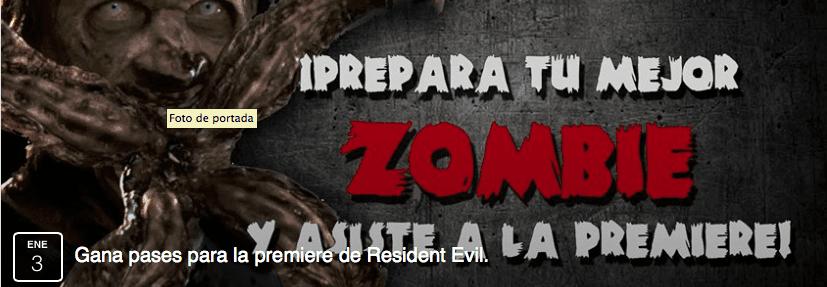 Concurso Resident Evil Friki Plaza: Gana boletos a la premier y alfombra roja