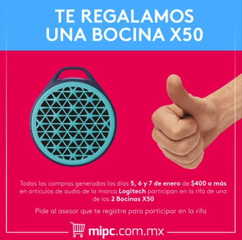 Sorteo Logitech Mi PC: Gana una de las 2 bocinas X50