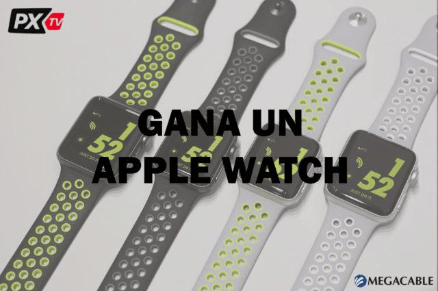 Gana un Apple Watch con las trivias de PXTV y Megacable
